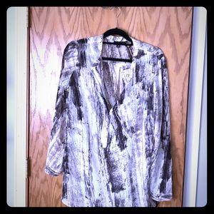 Silky tunic